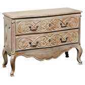 Furniture Classics Marie Claire Carved Commode