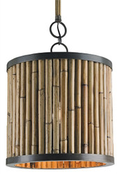 Natural Avrett pendant by currey and company