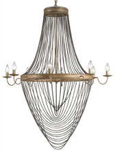 Currey and Company Large Lucien Chandelier