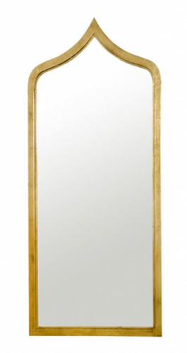 adina mirror in gold leaf by worlds away
