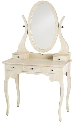 Deborah Vintage Vanity Table by Currey and Co