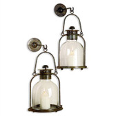 Pair of Alta Vista Wall Lanterns