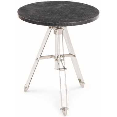 This innovative design features metal legs & a sleek black top that would fit perfectly in a modern OR chic setting.