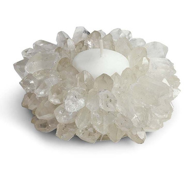 Regina Andrew Quartz Crown point Tea light