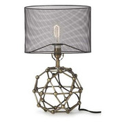 Regina Andrew Brass Model Molecule Lamp