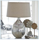 Regina Andrew Antiq Merc Glass Wine Sphere Lamp