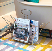 Cat's Cradle Magazine Caddy-Nickel