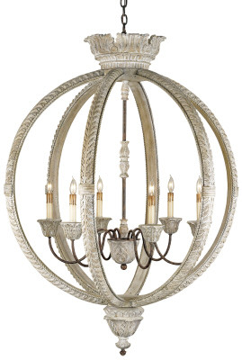 Currey & Company Dauphin Chandelier, Large