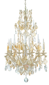 Currey & Company Buttermere Chandelier, Small