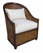 Abroad cane bay chair