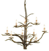 Currey & Company Treetop Chandelier, Large