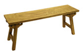 Accessoriesabroad Large Wooden Bench- Green