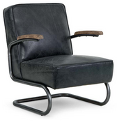Regina Andrew Dexter Chair - Antique Slate