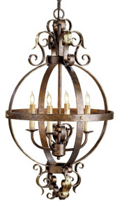 Currey & Company Coronation Sphere Chandelier