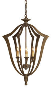 Currey & Company Protocol Chandelier, Small