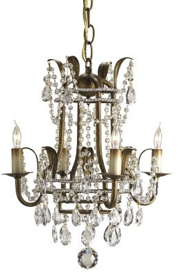 Currey & Company Laureate Chandelier, Small