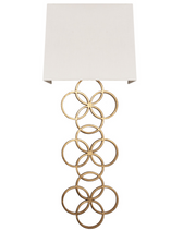 Harriet G sconce from Worlds Away