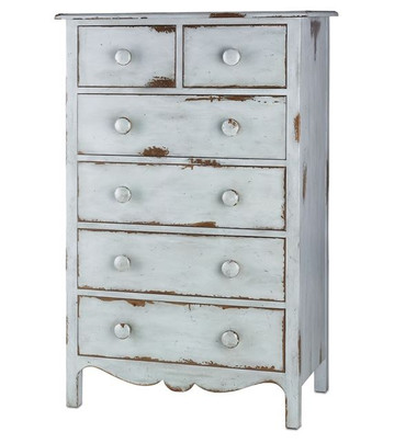 Currey and Company Henrietta Highboy Dresser