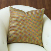 A weave throw pillow from Global Views