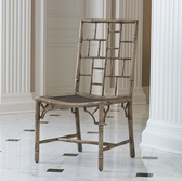 A cathay side chair from Global Views