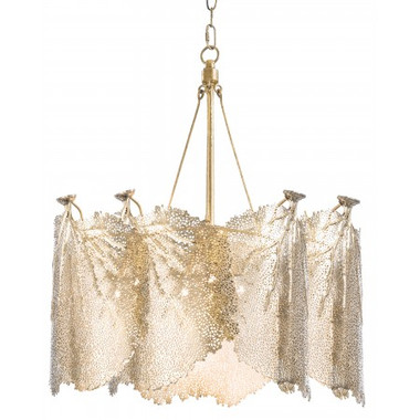Redefine contemporary style with the Extra Large Sea Fan Chandelier from Regina Andrew Design. With an artist's eye, their custom designs  skillfully mixes modern with rustic, elegant with casual, romantic with relaxed. They have an eclectic vision that resonates with natural style.
