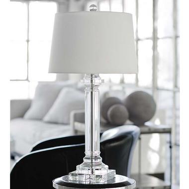 Regina Andrew Classic Crystal Column Lamp