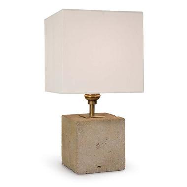 Regina Andrew Concrete Mini Cube Lamp