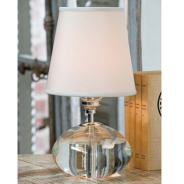 Regina Andrew Crystal Mini Oval Lamp