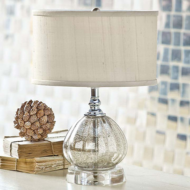 Regina Mercury Glass Clove Lamp
