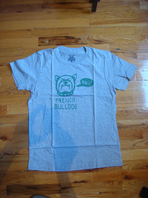 Lust For Life - Graphic Bulldog Tee - Grey - L