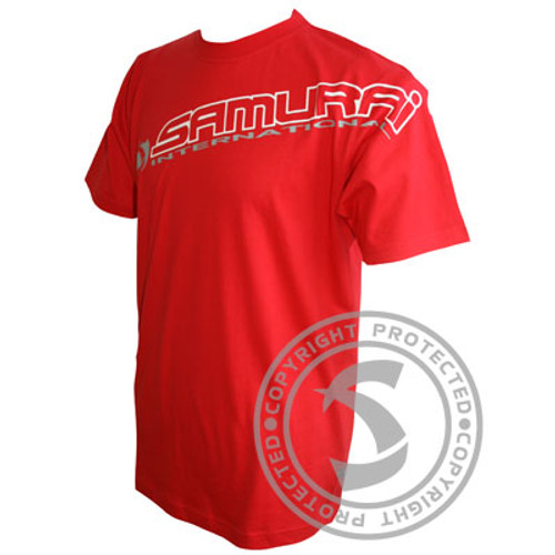 Samurai International Tee - Red