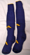 AthletiCorp Pro Rugby Socks - Purple/Gold