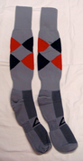 AthletiCorp Pro Rugby Socks - ARGYLE