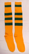 Rugby Socks - Yellow/Kelly