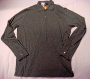 CCC Men's Long Sleeve Shirt - Grey