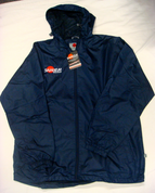 Samurai Full Zip Rain Top - Navy