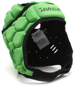 Samurai Contour Elite Headguard - Lime Green