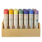 Chakra Meditation Pillar 7 Candle Set - One of Each!