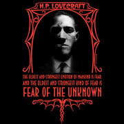 H.P. Lovecraft - Fear of The Unknown shirt