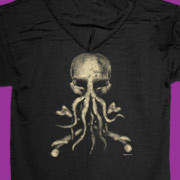 Jolly Roger Cthulhu zip up hoody
