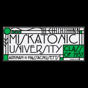 Miskatonic University class of 1937 shirt