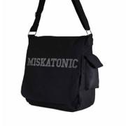 Miskatonic canvas messenger bag