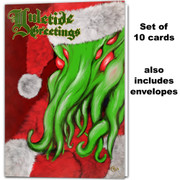 Santa Cthulhu Yuletide Greeting Card (set of 10)