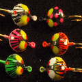 6 pc. Size 1/16 Bug jigs