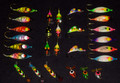 Walleye,Northern, Laker, and Perch 27 pc kit Great mix of some of our best ice fishing lures!