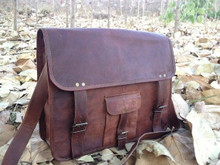 PL 16 Inch Retro Briefcase