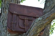 PL Snazzy Leather Satchel