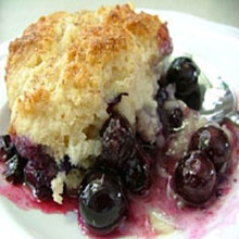 Blueberry Cobbler CG