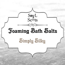 "Simply Silky ""Foaming Bath Salt"""