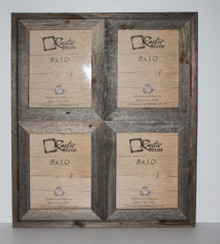 Rustic Barn Wood Window Frame (Holds 8x10 Pictures)